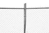 """""""A chainlink fence, with posts, is isolated on a pure white, waiting for you to add a background.Here is more chainlink fencing, all XL and all isolated on white:"""""""