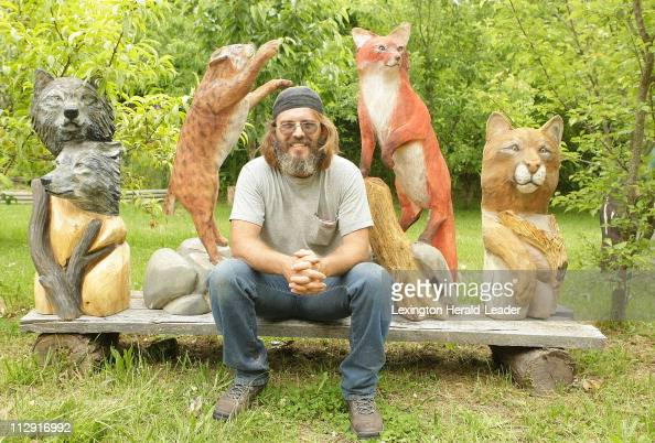 Chainsaw carving stock photos and pictures getty images