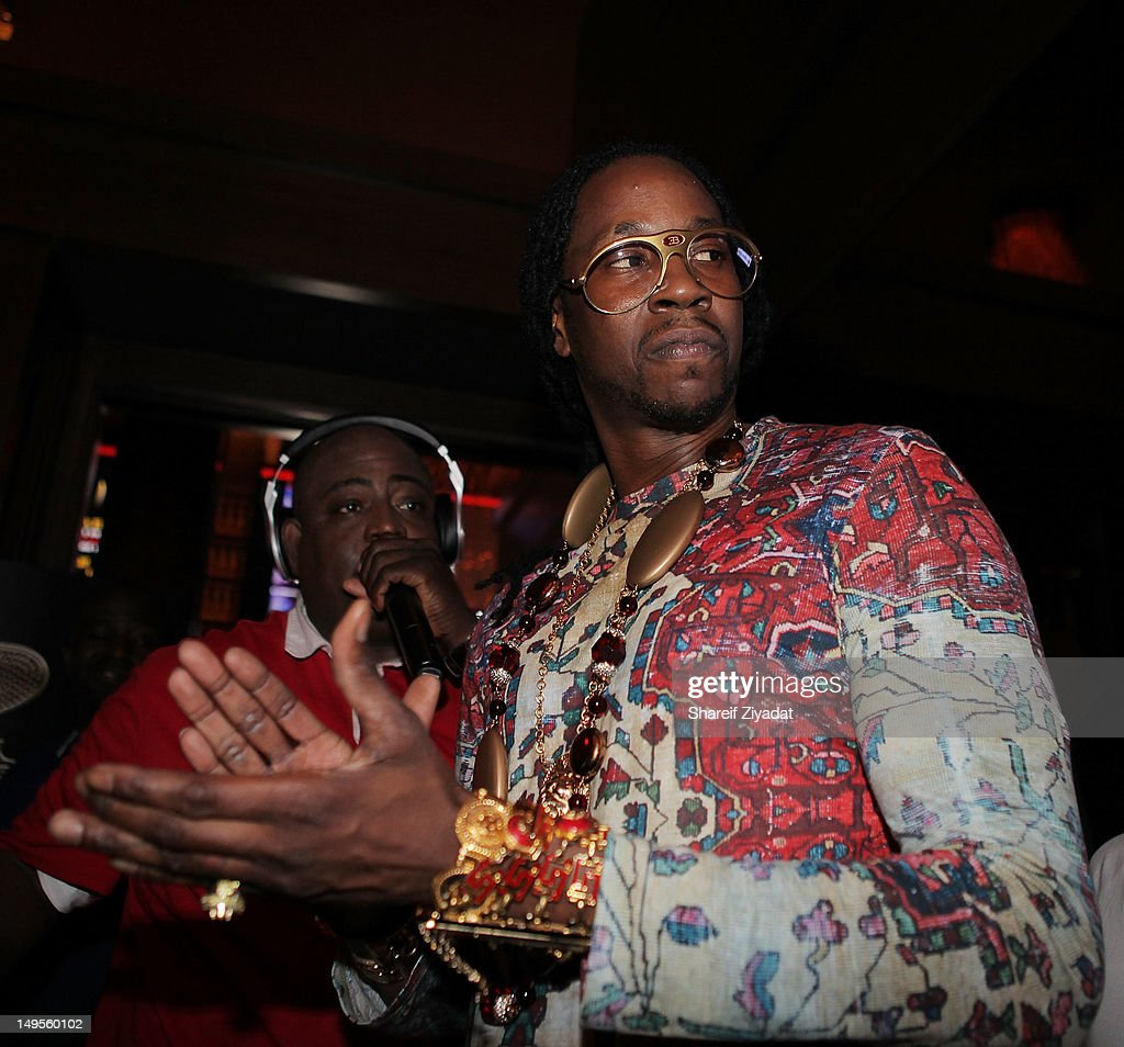 2 Chainz attends the 2 Chainz Album Release Party at 40 / 40 Club on July 30, 2012 in New York City.