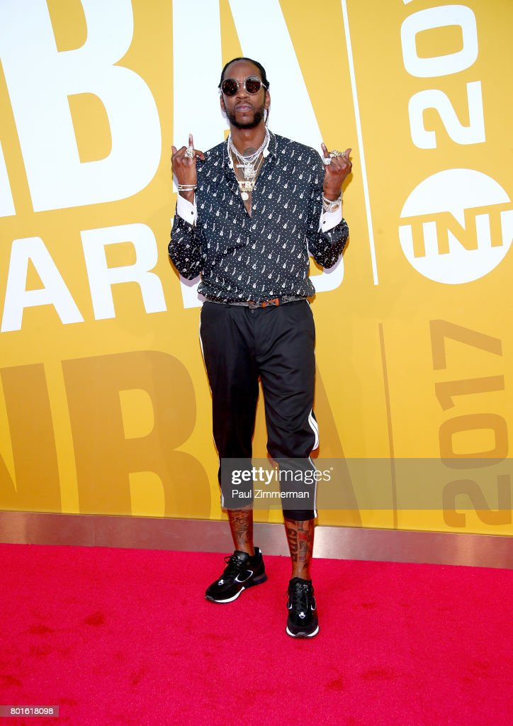 2 Chainz attends the 2017 NBA Awards at Basketball City - Pier 36 - South Street on June 26, 2017 in New York City.