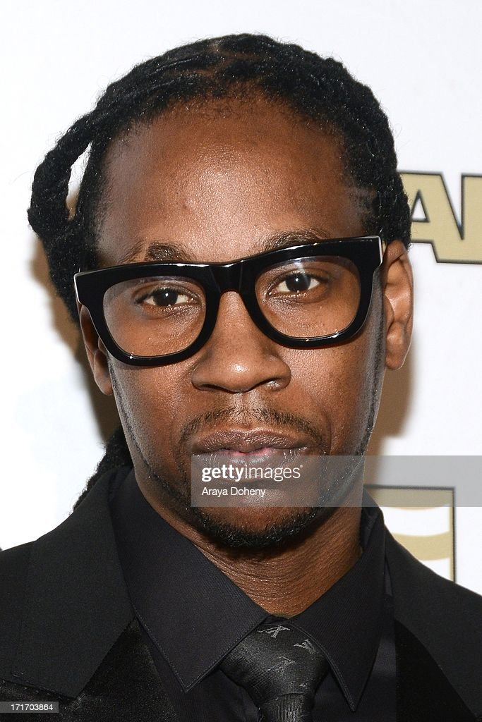 <a gi-track='captionPersonalityLinkClicked' href=/galleries/search?phrase=2+Chainz&family=editorial&specificpeople=8559144 ng-click='$event.stopPropagation()'>2 Chainz</a> attends The American Society of Composers, Authors and Publishers (ASCAP) 26th Annual Rhythm & Soul Music Awards at The Beverly Hilton Hotel on June 27, 2013 in Beverly Hills, California.