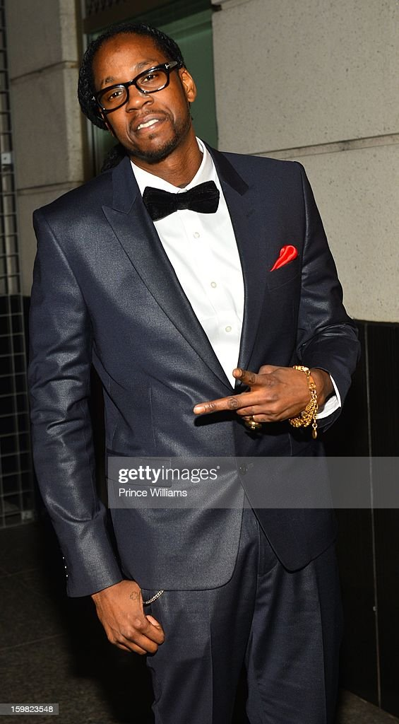 <a gi-track='captionPersonalityLinkClicked' href=/galleries/search?phrase=2+Chainz&family=editorial&specificpeople=8559144 ng-click='$event.stopPropagation()'>2 Chainz</a> attends The Hip-Hop Inaugural Ball II at Harman Center for the Arts on January 20, 2013 in Washington, DC.
