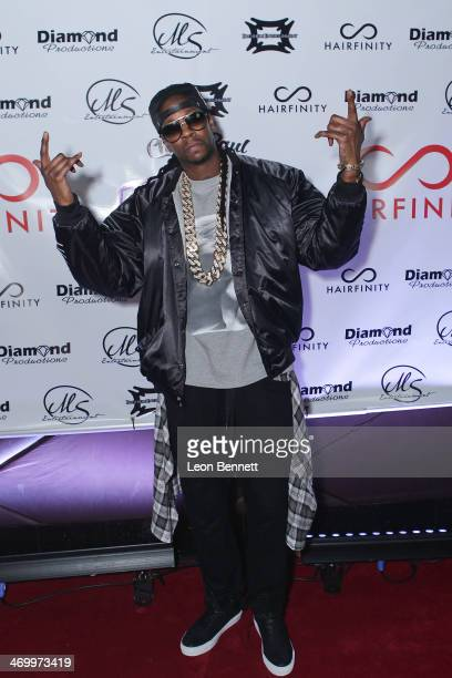 Chainz attends the 'Who Party The Hardest' Event hosted by 2 Chainz Monica and Hairfinity during NBA AllStar Weekend 2014 at Masquerade Club At...