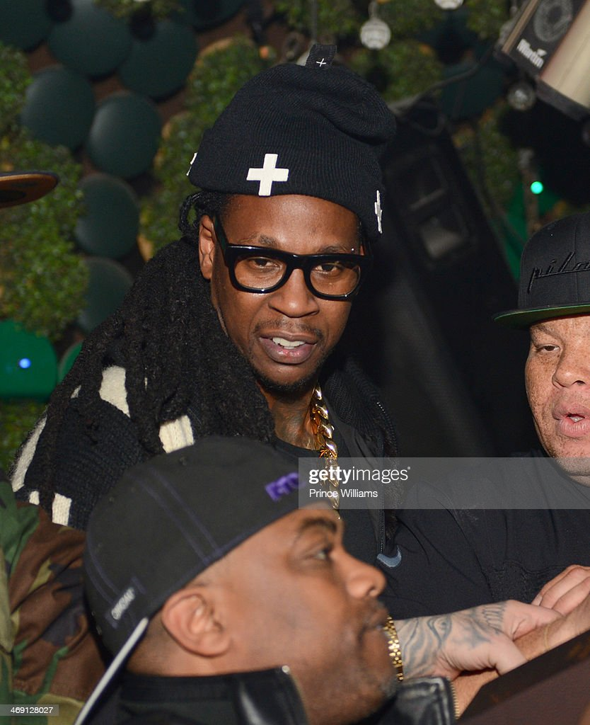 2 chainz attends Young Jeezy And Victor Cruz's Post Super Bowl Party at Greenhouse on February 2, 2014 in New York City.