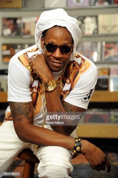 2 Chainz films Music Choice's Take Back Your Music Campaign at Other Music on September 12 2013 in New York City