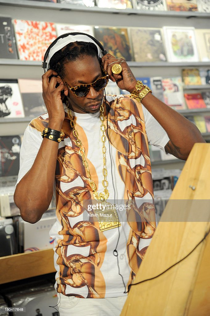 2 Chainz Films Music Choice's Take Back Your Music Campaign at Other Music on September 12, 2013 in New York City.
