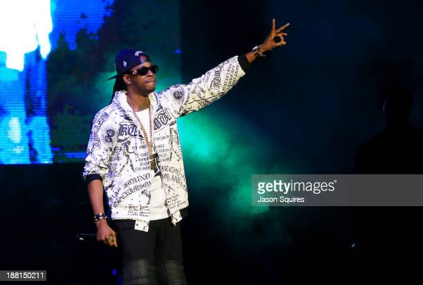 Chainz performs at Sprint Center on November 15 2013 in Kansas City Missouri