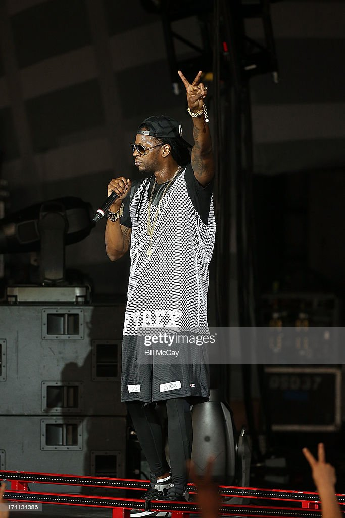 2 Chainz performs at the Susquehanna Bank Center July 20, 2013 in Camden, New Jersey.