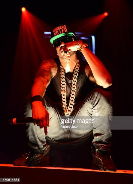 Chainz performs during 2 Good to be TRU concert at Fillmore Miami Beach on March 18 2014 in Miami Beach Florida