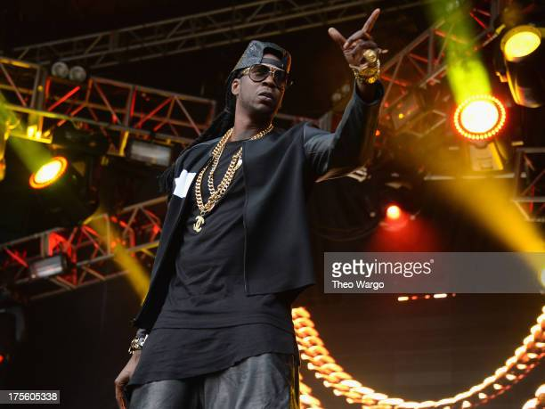 Chainz performs during Lollapalooza 2013 at Grant Park on August 4 2013 in Chicago Illinois