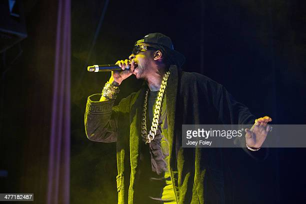 Chainz performs during the 2 Good To Be TRU Tour in The Egyptian Room at Old National Centre on March 1 2014 in Indianapolis Indiana
