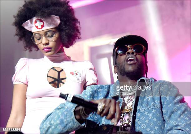 Chainz performs during the 'Pretty Girls Like Trap Music' tour at Fox Theater on August 14 2017 in Oakland California