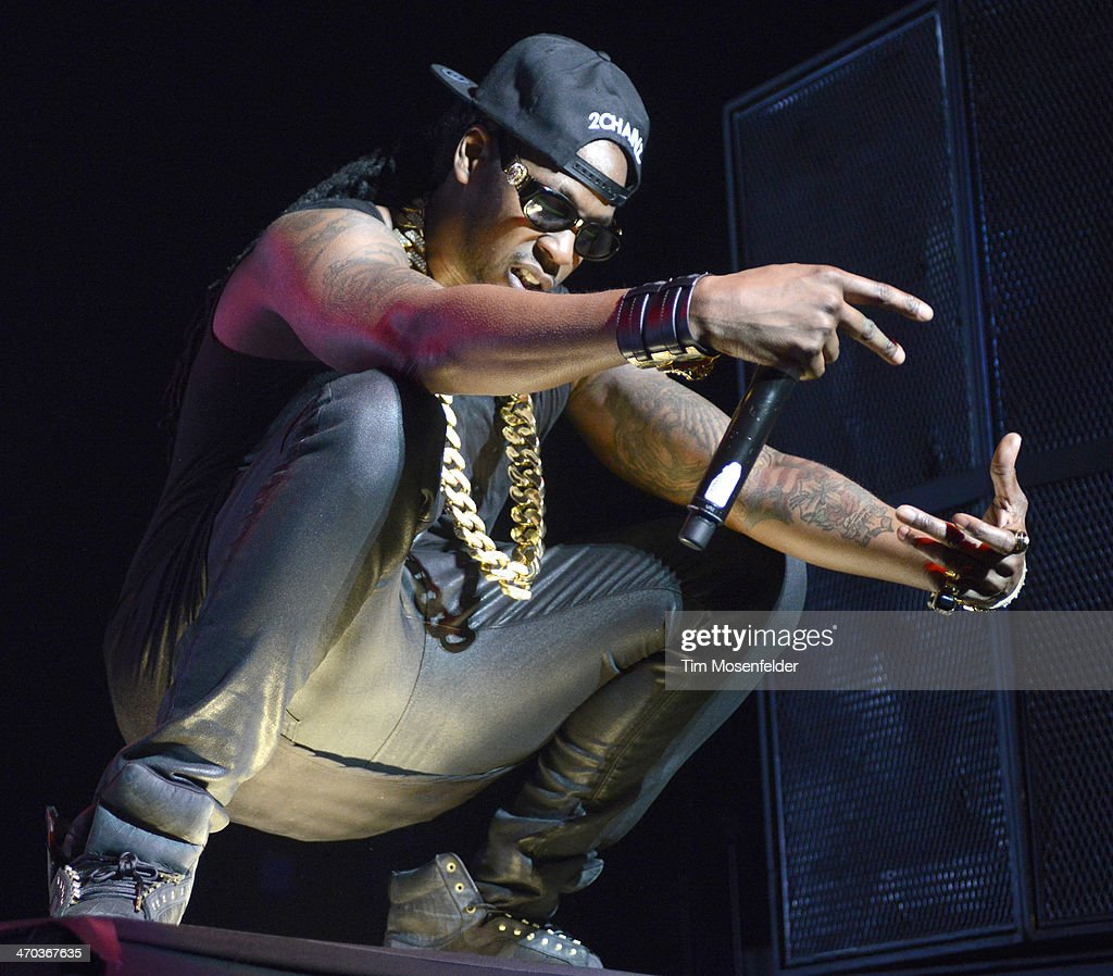 Chainz performs in support of his BOATS II Me Time release at The Fox Theatre on February 18 2014 in Oakland California