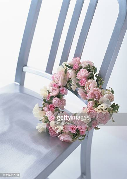 Chair and Wreath