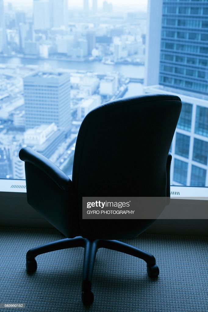 Chair beside window