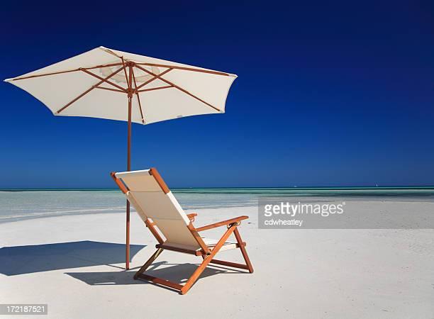 Stuhl am Meer