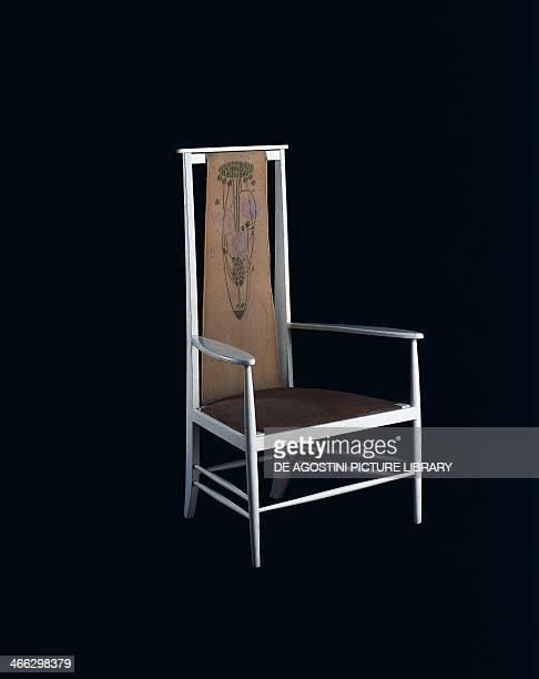 Chair designed by Charles Rennie Mackintosh United Kingdom 19th century