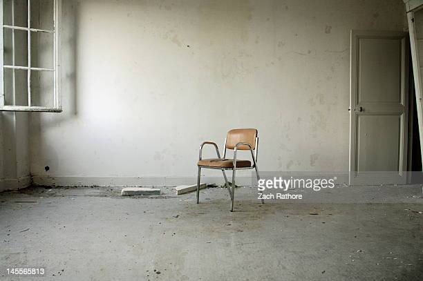 Chair in hospital
