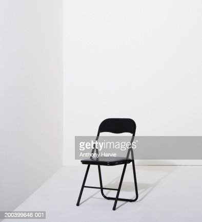 Chair in white room