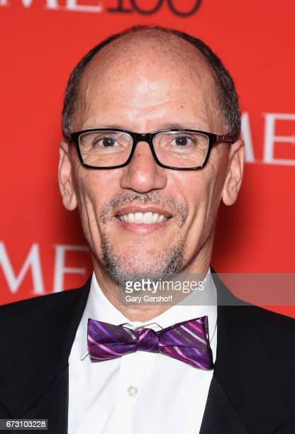 Chair of The Democratic National Committee Tom Perez attends the Time 100 Gala at Frederick P Rose Hall Jazz at Lincoln Center on April 25 2017 in...