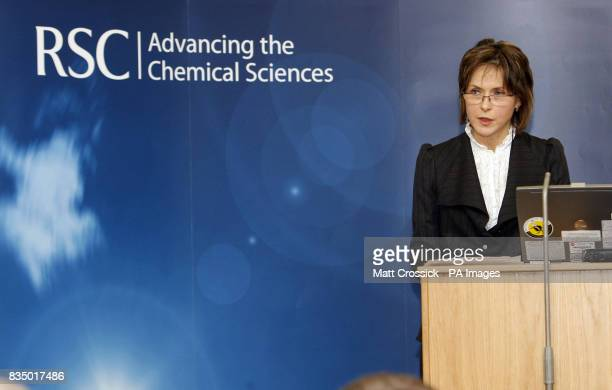 ChairDesignate Council of Food Policy Advisers Dame Suzi Leather speaks at the launch of 'The Vital Ingredient Chemical Science and Engineering for...