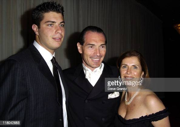 MGM Chairman and CEO Alex Yemenidjian and Family during Noche de Ninos Childrens Hospital Los Angeles Gala Arrivals at Beverly Hilton Hotel in...