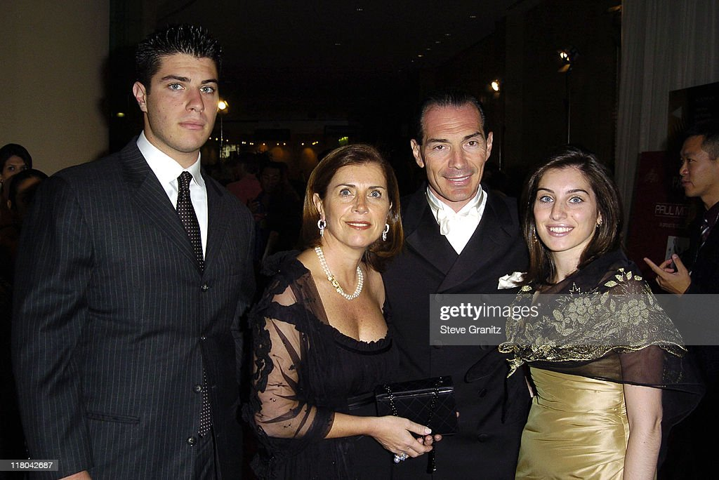 MGM Chairman and CEO Alex Yemenidjian and Family during Noche de Ninos Childrens Hospital Los Angeles Gala Inside at Beverly Hills Hilton Hotel in...