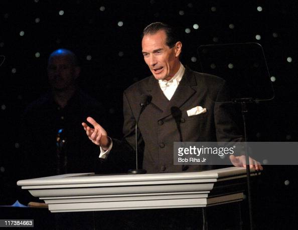 MGM Chairman and CEO Alex Yemenidjian presents in Beverly Hills Calif on Saturday Oct 2 2004 at the inaugural Noche de Nios Gala a starstudded...