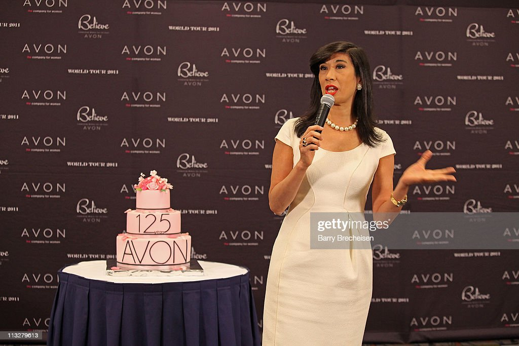 Chairman and CEO <a gi-track='captionPersonalityLinkClicked' href=/galleries/search?phrase=Andrea+Jung&family=editorial&specificpeople=2019980 ng-click='$event.stopPropagation()'>Andrea Jung</a> attends the AVON Believe World Tour on April 29, 2011 in Chicago, Illinois.