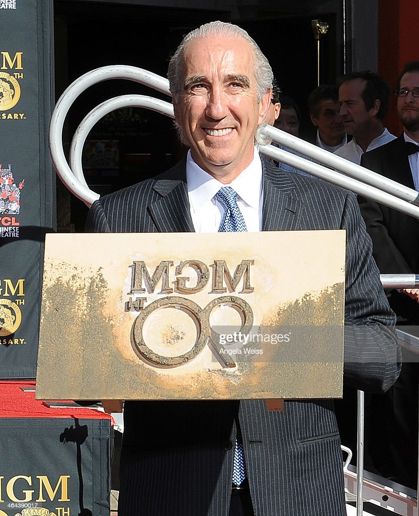 Chairman and CEO, Gary Barber attends the Metro-Goldwyn-Mayer 90th Anniversary Celebration at TCL Chinese Theatre on January 22, 2014 in Hollywood, California.