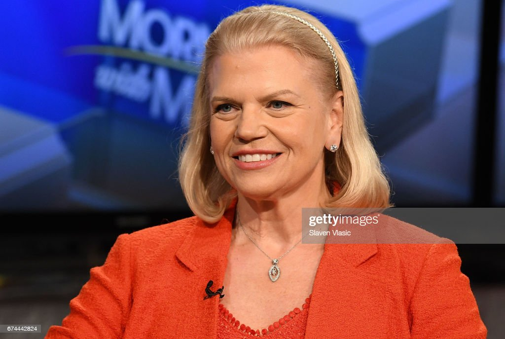 Ginni Rometty Visits Fox Business Network