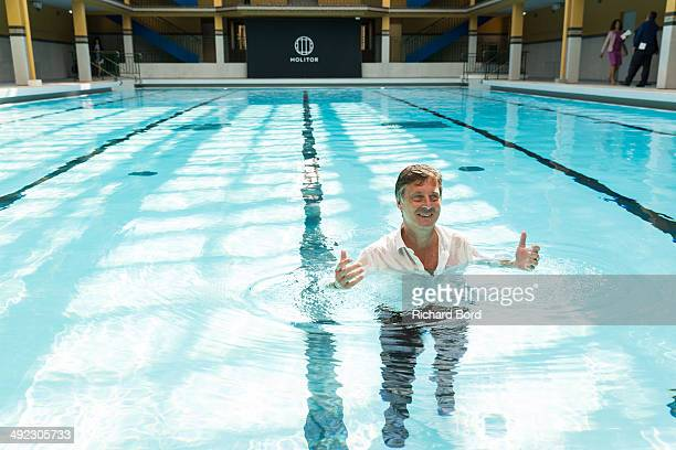 Sebastien bazin stock photos and pictures getty images for Piscine molitor swimming pool