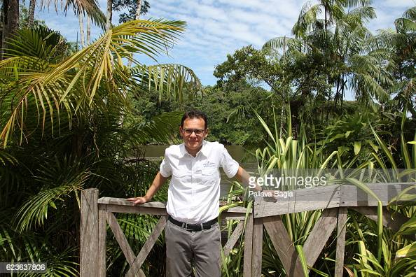 Chairman and CEO of Arianespace Stéphane Israël poses at the Guiana Space Center on October 5 2016 in Kourou French Guiana Arianespace is the world's...