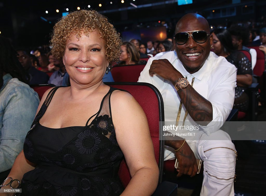Chairman and CEO of BET Networks Debra L Lee (L) and actor <a gi-track='captionPersonalityLinkClicked' href=/galleries/search?phrase=Tyrese&family=editorial&specificpeople=206177 ng-click='$event.stopPropagation()'>Tyrese</a> Gibson attends the 2016 BET Awards at the Microsoft Theater on June 26, 2016 in Los Angeles, California.