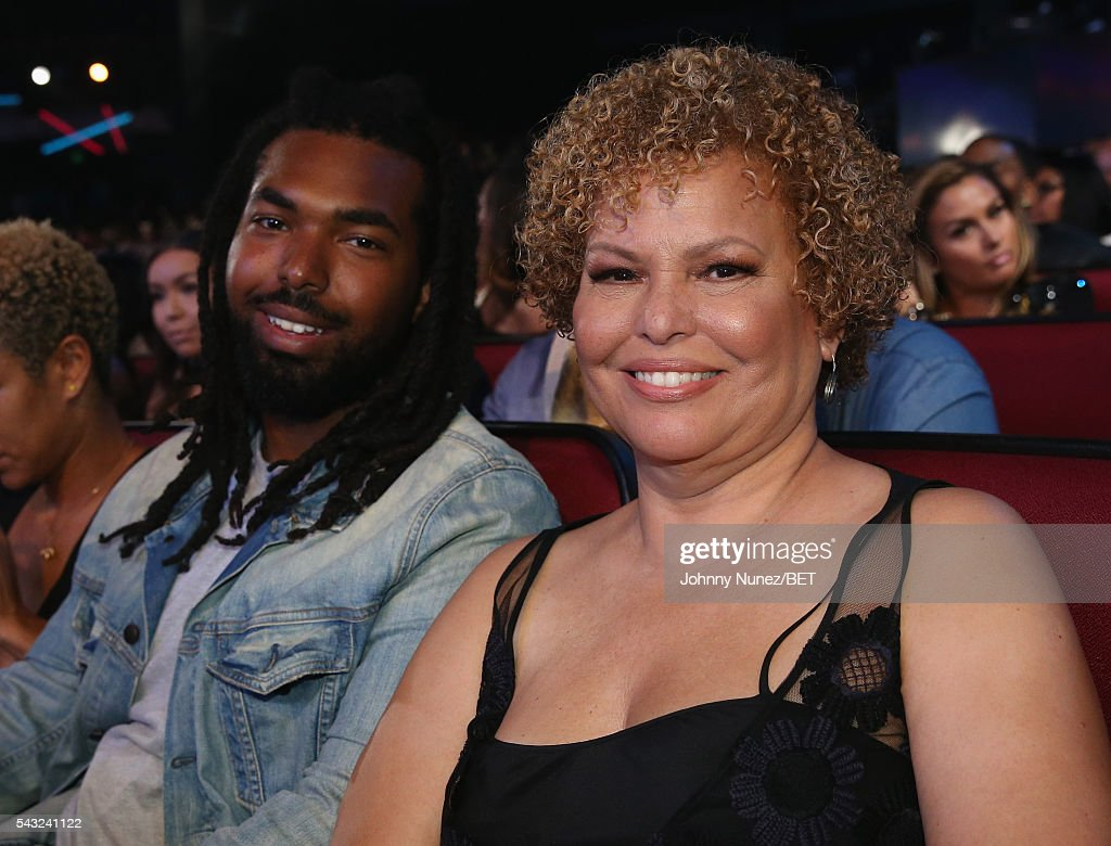 Chairman and CEO of BET Networks Debra Lee (R) attends the 2016 BET Awards at the Microsoft Theater on June 26, 2016 in Los Angeles, California.