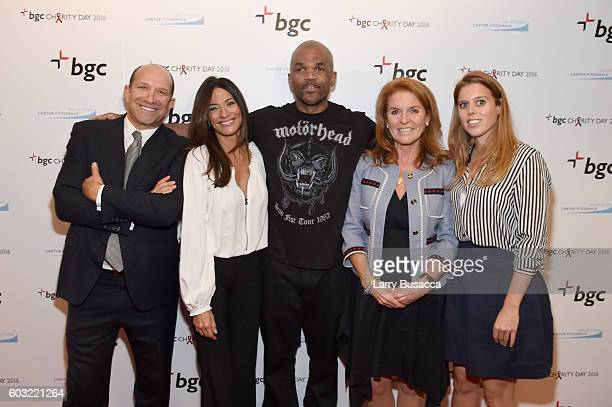 Chairman and CEO of Cantor Fitzgerald Howard Lutnick Allison Lutnick Darryl 'DMC' McDaniels Sarah Ferguson Duchess of York and Beatrice Ferguson...