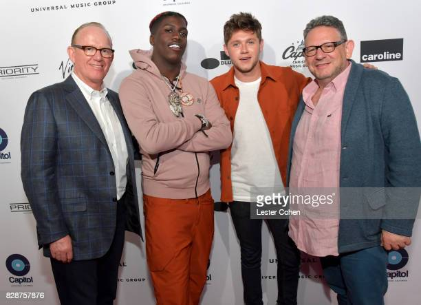Chairman and CEO of Capitol Music Group Steve Barnett recording artists Lil Yachty and Niall Horan and Chairman and Chief Executive Officer of...