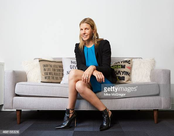 Chairman and CEO of CLEAR Caryn Seidman Becker is photographed for Delta Sky Magazine on September 19 2014 in New York City