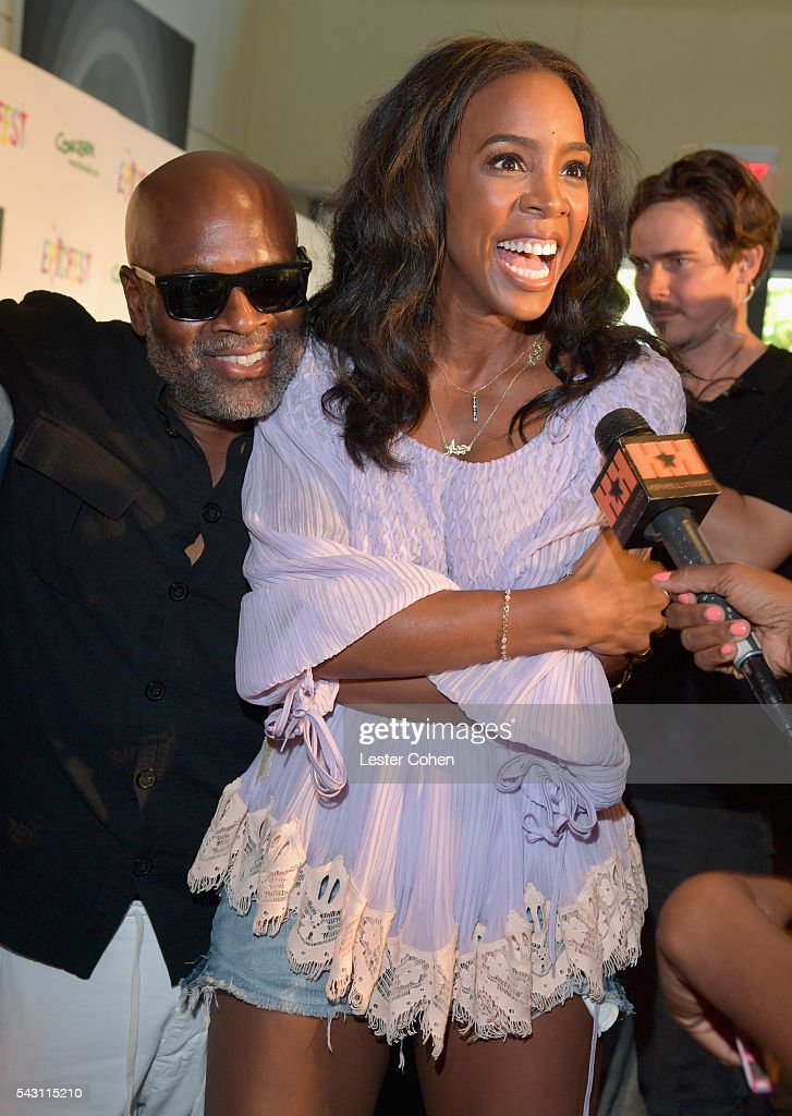 Chairman and CEO of Epic Records, L.A. Reid (L) and singer Kelly Rowland attend EpicFest 2016 hosted by L.A. Reid and Epic Records at Sony Studios on June 25, 2016 in Los Angeles, California.