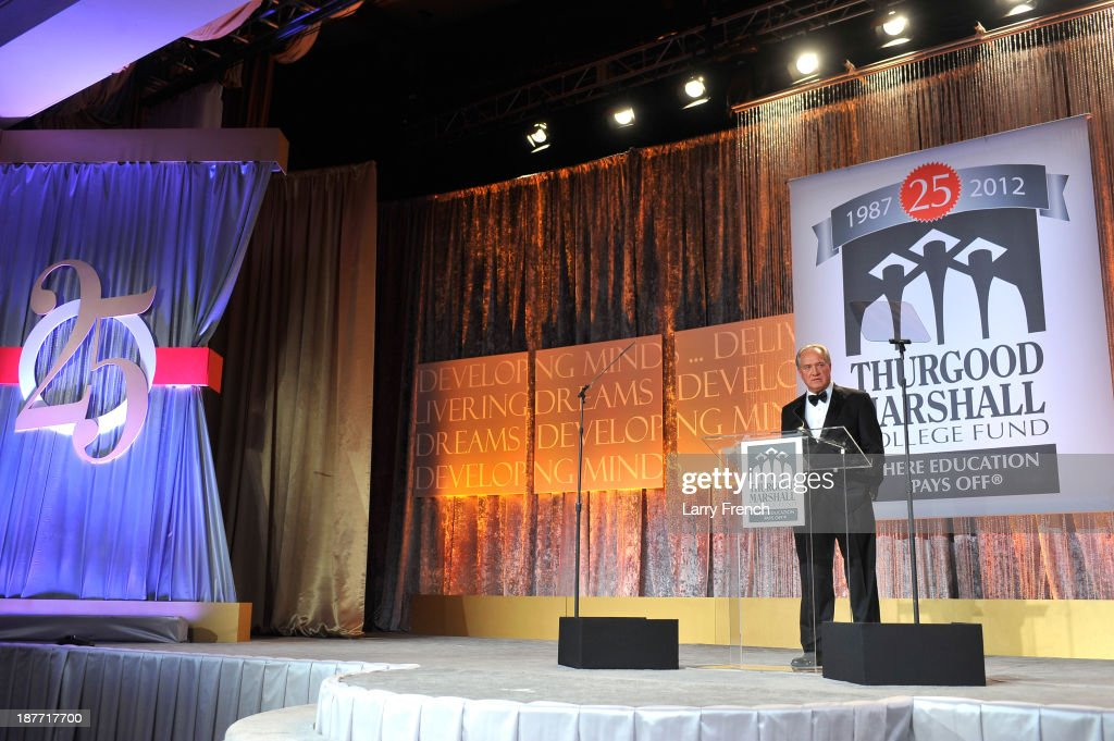 Chairman and CEO of Gallup, Jim Clifton speaks at the Thurgood Marshall College Fund 25th Awards Gala on November 11, 2013 in Washington City.