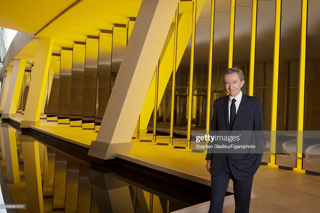 Frank Gehry and Bernard Arnault, Le Figaro, October 24, 2014