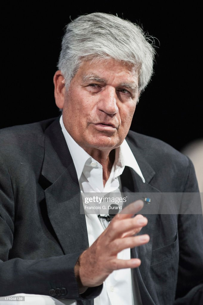 Chairman and CEO of Publicis Groupe, <a gi-track='captionPersonalityLinkClicked' href=/galleries/search?phrase=Maurice+Levy&family=editorial&specificpeople=588854 ng-click='$event.stopPropagation()'>Maurice Levy</a> attends the 'Publicis Groupe Seminar' during the Cannes Lions International Festival of Creativity on June 21, 2013 in Cannes, France.