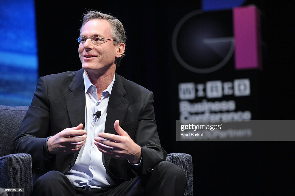 Chairman and CEO of Qualcomm, Paul Jacobs speaks at the WIRED Business Conference: Think Bigger at Museum of Jewish Heritage on May 7, 2013 in New York City.