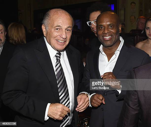 Chairman and CEO of Sony Music Entertainment Doug Morris and chairman and CEO of Epic Records Antonio LA Reid attend the Sony Music Entertainment...