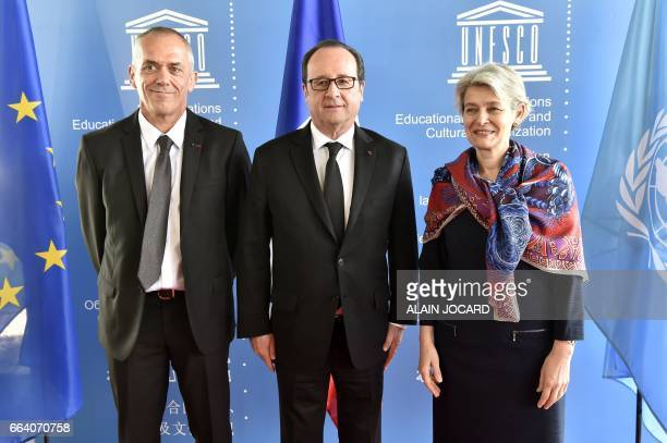 Chairman and CEO of the French public research centre INRIA Antoine Petit and DirectorGeneral of the United Nations Educational Scientific and...