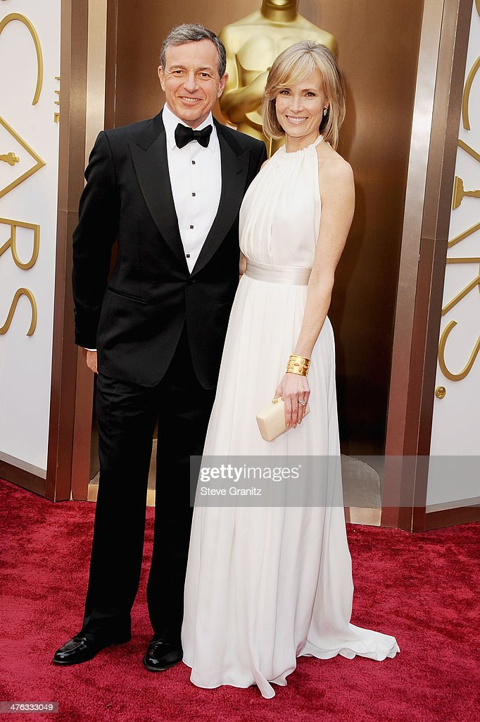 Chairman and CEO of The Walt Disney Company Bob Iger and TV personality Willow Bay attend the Oscars held at Hollywood Highland Center on March 2...