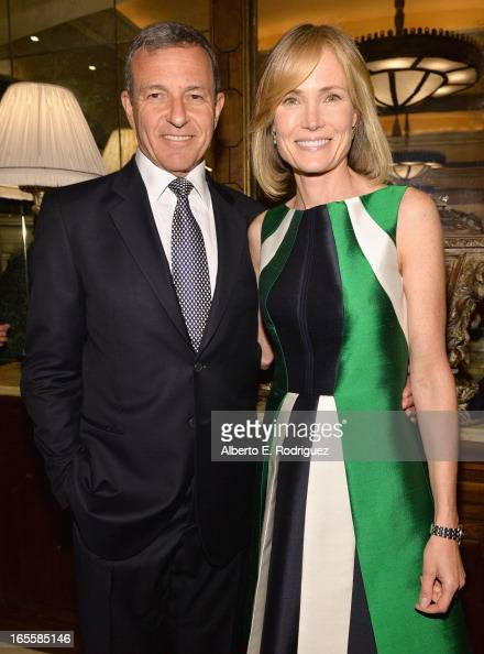 Chairman and CEO of The Walt Disney Company Bob Iger and wife Senior Editor of The Huffington Post Willow Bay attend Conservation International's...