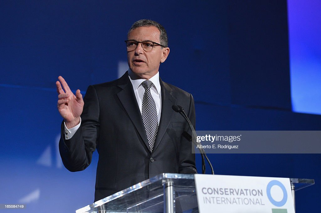 Chairman and CEO of The Walt Disney Company <a gi-track='captionPersonalityLinkClicked' href=/galleries/search?phrase=Bob+Iger&family=editorial&specificpeople=171211 ng-click='$event.stopPropagation()'>Bob Iger</a> attends Conservation International's 17th Annual Los Angeles Dinner at Montage Beverly Hills on April 4, 2013 in Beverly Hills, California.