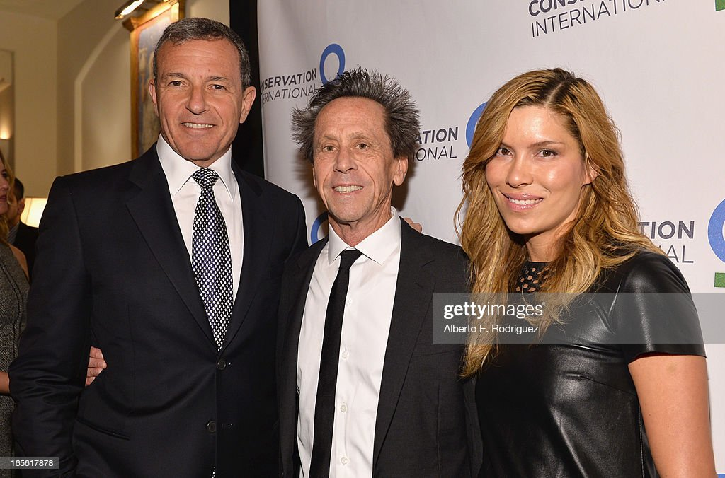 Chairman and CEO of The Walt Disney Company Bob Iger, producer Brian Grazer and Veronica Smiley attend Conservation International's 17th Annual Los Angeles Dinner at Montage Beverly Hills on April 4, 2013 in Beverly Hills, California.