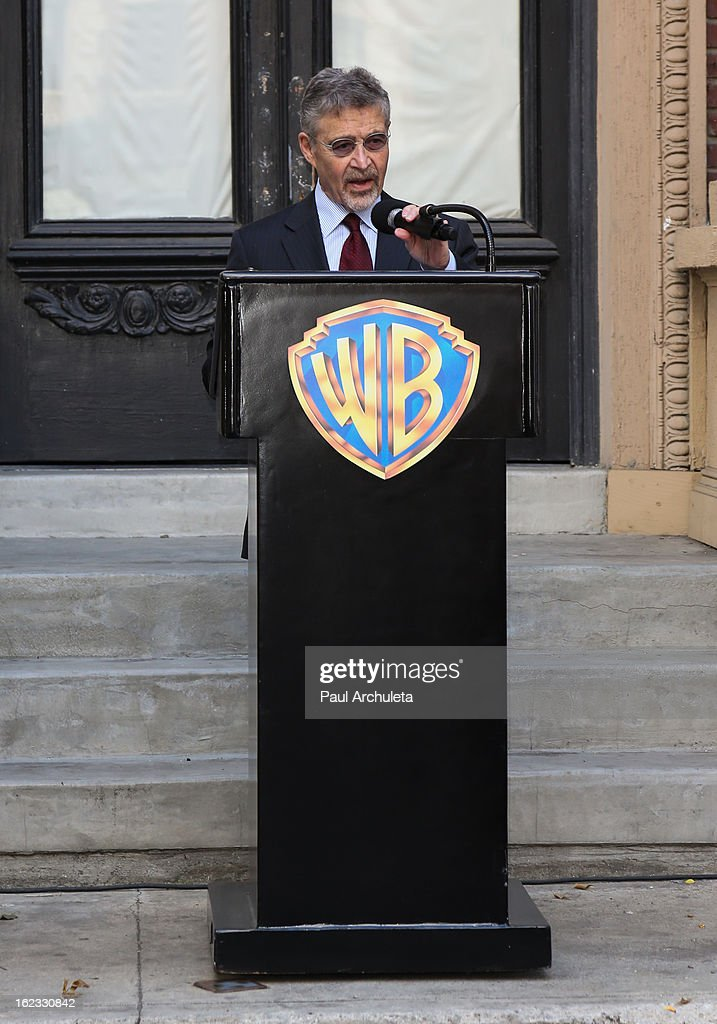 Chairman and CEO of Warner Bros. Entertainment Barry M. Meyer attends the presentation of the 2nd annual 'Made In Hollywood Award' to the crew of the Oscar nominated film 'Argo' at Warner Bros. Studios on February 21, 2013 in Burbank, California.
